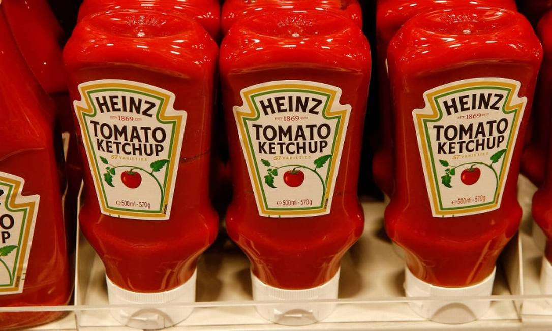 A Kraft Heinz é controlada pelo fundo brasileiro 3G, do bilionário brasileiro Jorge Lemann, e pela Berkshire Hathaway, de Buffett Foto: / Reuters