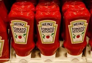 A Kraft Heinz é controlada pelo fundo brasileiro 3G, do bilionário brasileiro Jorge Lemann, e pela Berkshire Hathaway, de Buffett Foto: Reuters