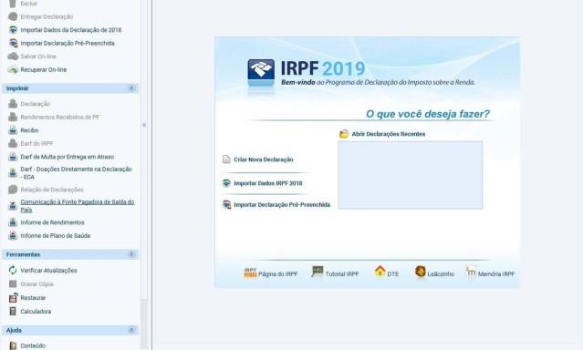 4aa829733bf9 Imposto de Renda 2019: Veja o passo a passo para preencher o formulário -  Jornal O Globo