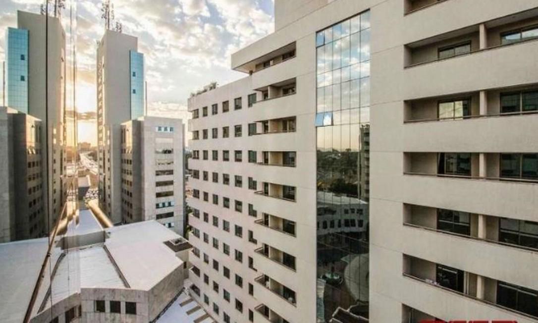 Imóvel em Brasília onde deve funcionar nova sede do PSL Foto: Reprodução
