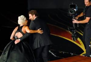 A apresentação de 'Shallow', com Lady Gaga e Bradley Cooper, foi um dos momentos mais comentados do Oscar 2019 Foto: MIKE BLAKE / REUTERS