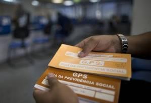 Reforma cria 2 novas formas de contribuição previdenciária para trabalhador intermitente Foto: Márcia Foletto / Agência O Globo