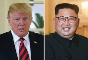 Presidente americano, Donald Trump se reunirá com líder norte-coreano, Kim Jong-un, no Vietnã Foto: SAUL LOEB / ROSLAN RAHMAN / AFP