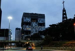RI - Rio de Janeiro (RJ) 30/03/2016 - Amanhecer no centro em frente ao predio da Petrobras e BNDES Foto Pedro Teixeira / Agência O Globo Foto: Pedro Teixeira / Agência O Globo