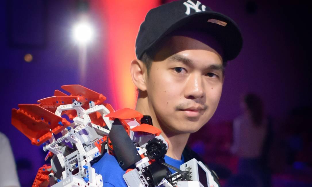 Lee Magpili, engenheiro e designer sênior da Lego, participa do Educação 360 Jovem Tech Foto: Divulgação