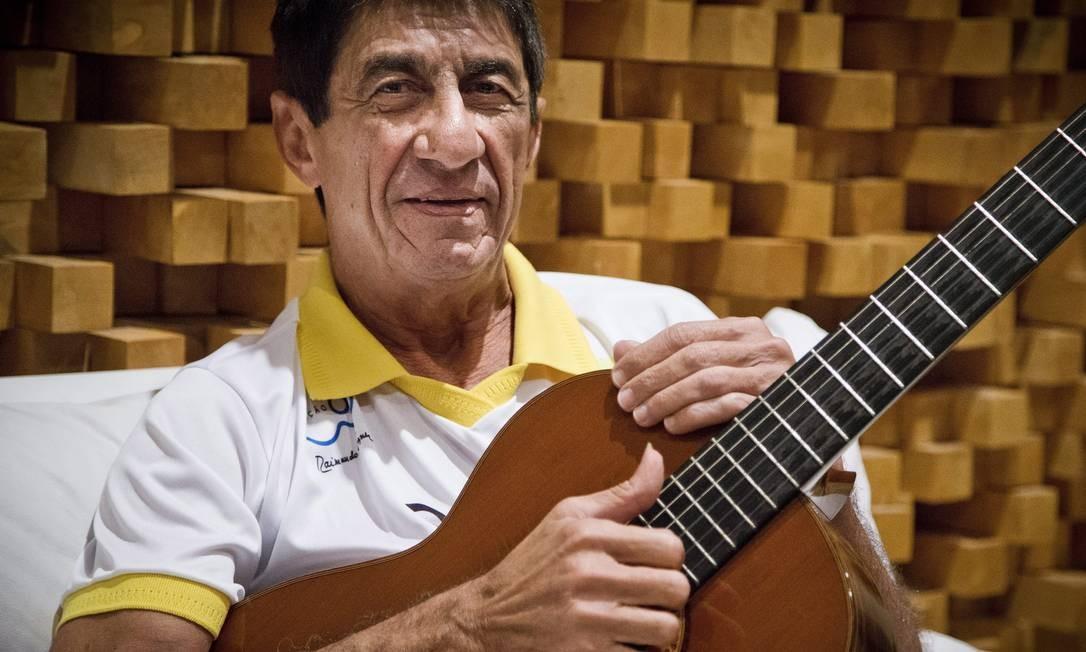 O cantor e compositor cearense Fagner, em 2014 Foto: Guito Moreto / Agência O Globo