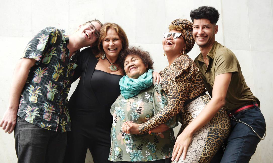 Lucas Estrela, Fafá de Belém, Dona Onete, Gaby Amarantos e Jaloo vão representar a música paraense no Rock in Rio Foto: Helena Yoshioka / Divulgação