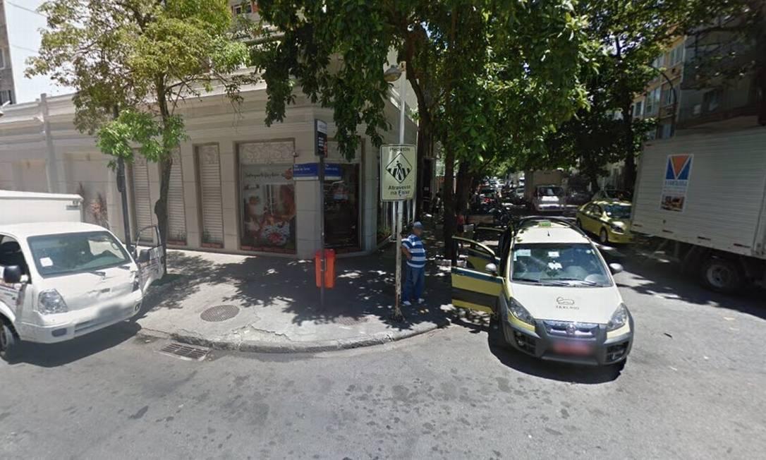 A esquina onde ocorreu o tiroteio Foto: Google Street View / Reprodução