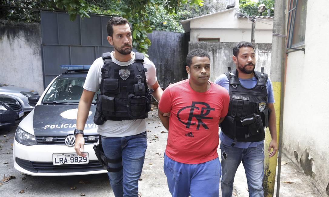 Luciano Lima de Souza é suspeito de ser o gerente do trafíco Foto: Marcos Ramos / Agência O Globo