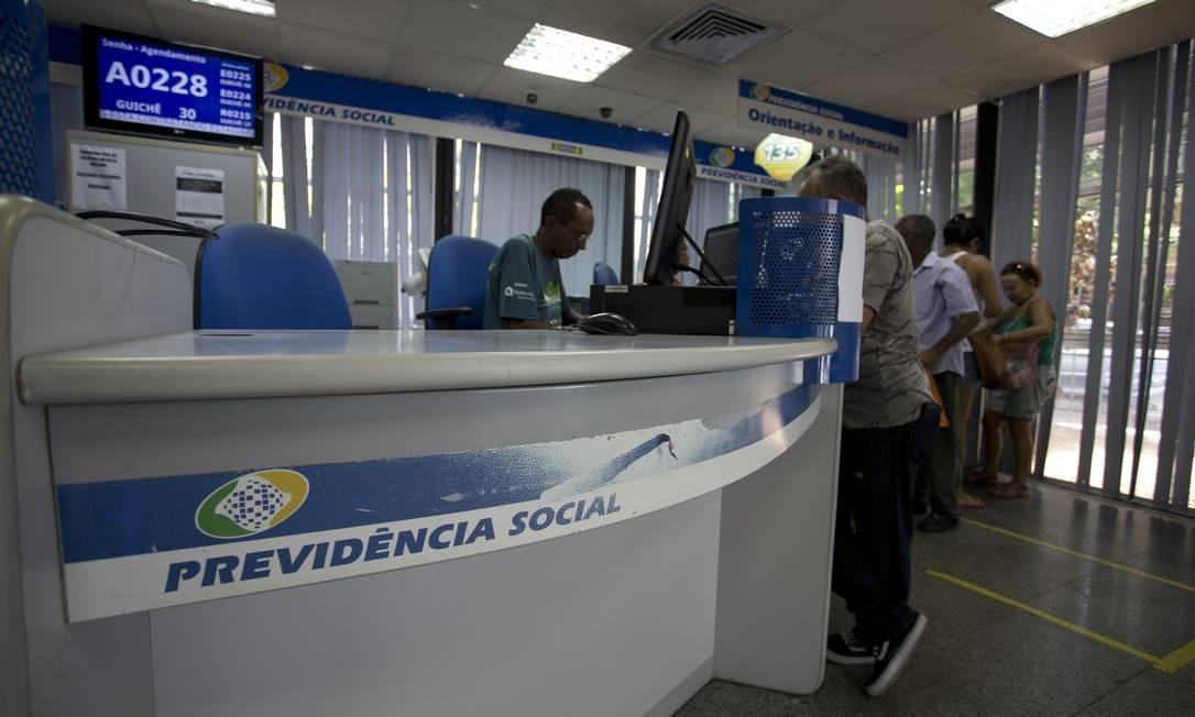 Déficit da Previdência este ano é maior do que o do ano passado: R$ 309 bilhões contra R$ 288 bilhões Foto: / Márcia Foletto/15-01-2019