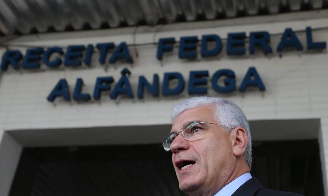 Desde que Jorge Rachid deixou a Receita, o órgão mergulhou numa guerra interna. Foto: Ailton de Freitas / Agência O Globo