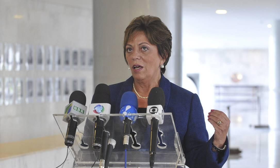 Ex-governadora do Rio Grande do Norte, Rosalba Ciarlini (PP-RN) teria recebido caixa dois de R$ 16 milhões proveniente da obra da Arena das Dunas. Ela disse 'desconhecer qualquer transação nesse sentido com a OAS' Foto: Reprodução/EBC