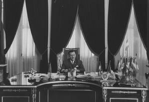 O ditador Alfredo Stroessner Foto: Frank Scherschel / LIFE Picture Collection