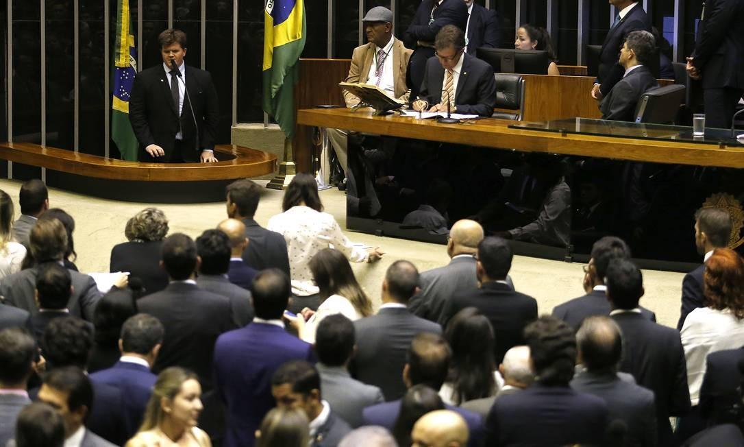 Plenário da Câmara: PSDB não apoia mudanças no Benefício de Prestação Continuada na reforma. Foto: Jorge William / Agência O Globo