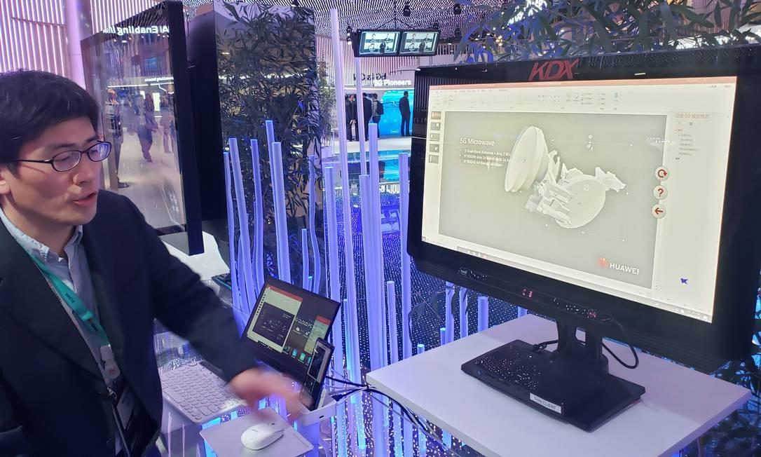 3D ao olho humano:é possível assistir a um vídeo em 3D sem a necessidade de óculos Foto: Bruno Rosa