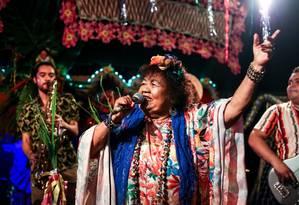 Dona Onete canta às 2h do domingo, no CasaBloco Foto: Divulgação/Bruno Carachesti