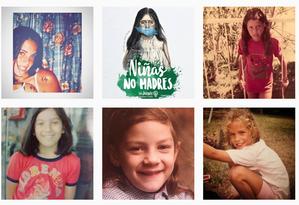 Internautas protestam com a hashtag #NiñasNoMadres Foto: Instagram/Reprodução