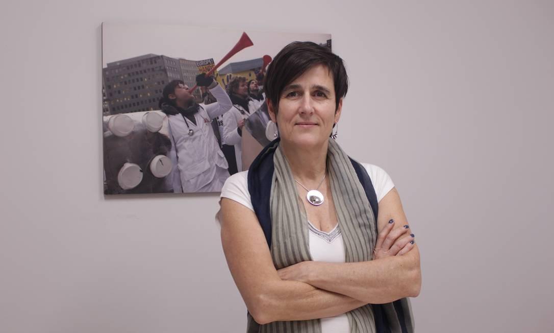 Els Torreele, Diretora Geral da Campanha de Acesso a Medicamentos de Médicos Sem Fronteiras Foto: Divulgação