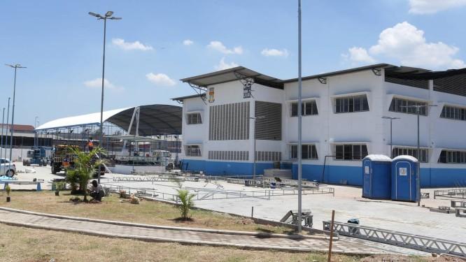 Colégio militar de Caxias: o segundo concurso para o ingresso da primeira turma foi anulado Foto: Guilherme Pinto / Agência O Globo