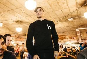 Santiago Lopez, de 19 anos, trabalha em tempo integral como hacker Foto: HackerOne