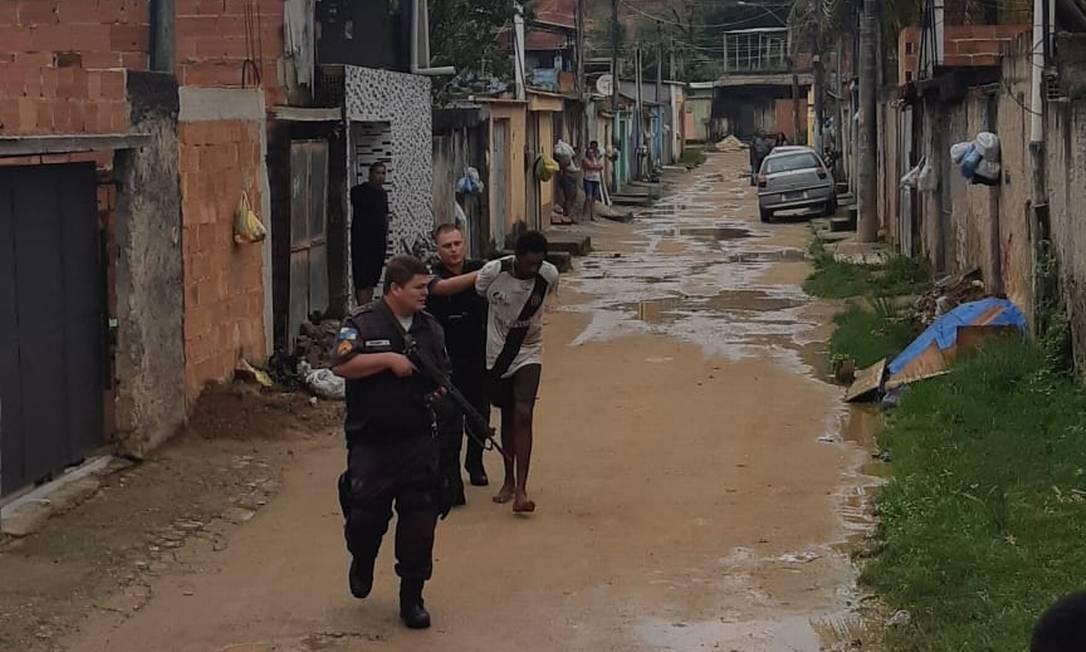 Fábio foi preso em flagrante nesta sexta-feira (1) Foto: Reprodução
