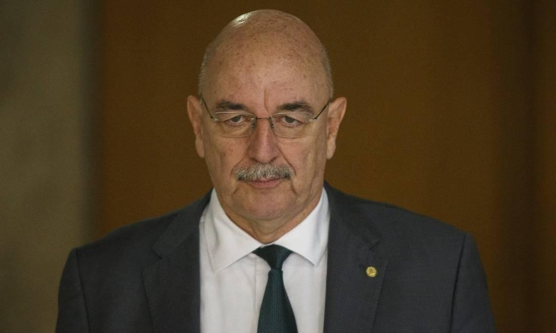 Osmar Terra, ministro da Cidadania Foto: Daniel Marenco / Agência O Globo