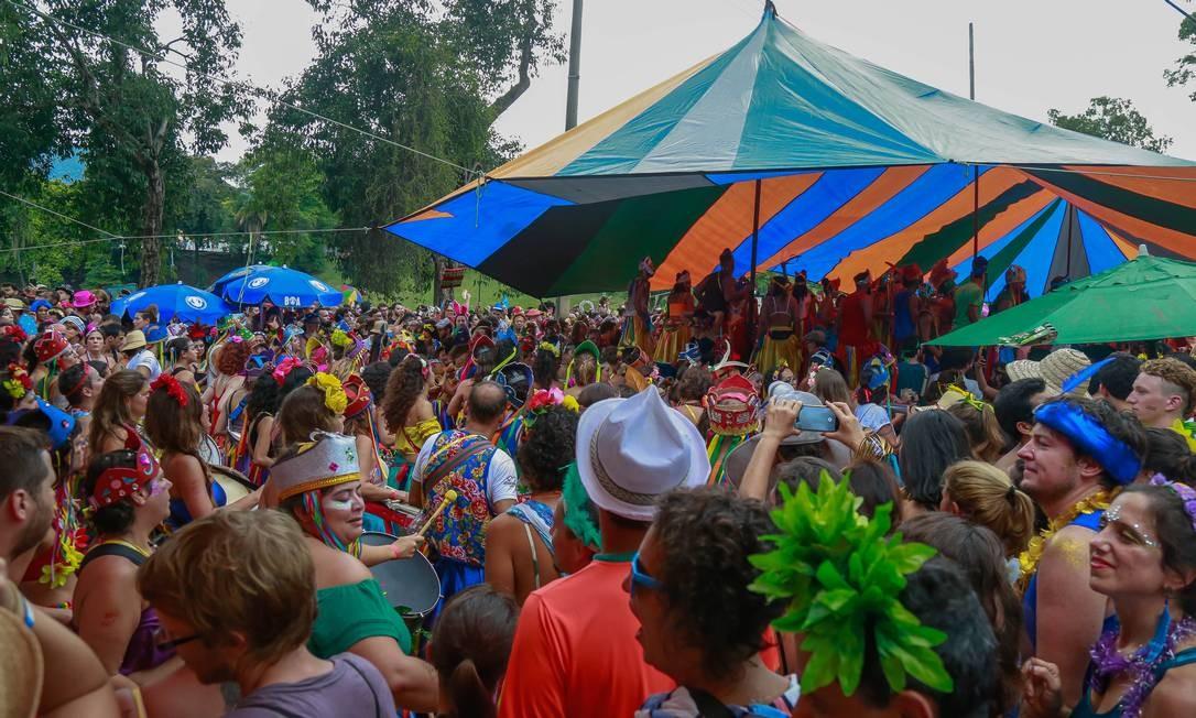 O Terreirada Cearense arrastou uma multidão na Quinta da Boa Vista Foto: Marcelo Regua / Marcelo Regua