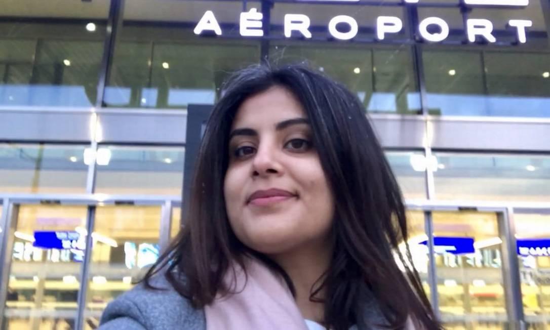 Loujain al-Hathloul, uma das mais proeminentes ativistas sauditas, é uma das detidas que deverá ir a julgamento Foto: Reprodução/Twitter