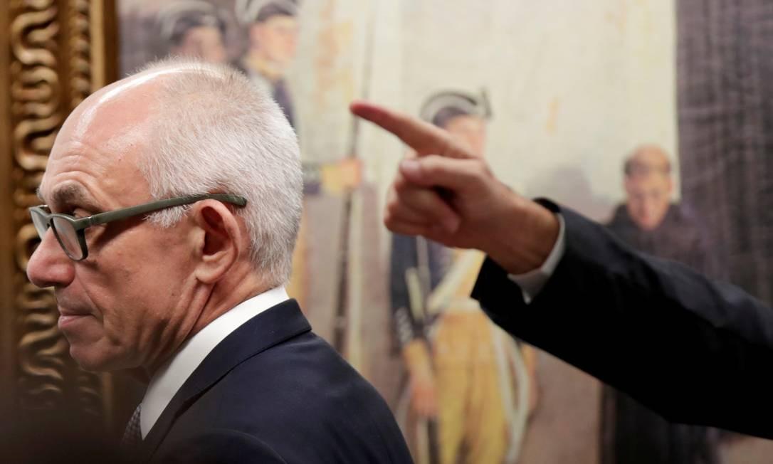 Fabio Schvartsman foi afastado temporariamente do comando da Vale Foto: UESLEI MARCELINO / REUTERS