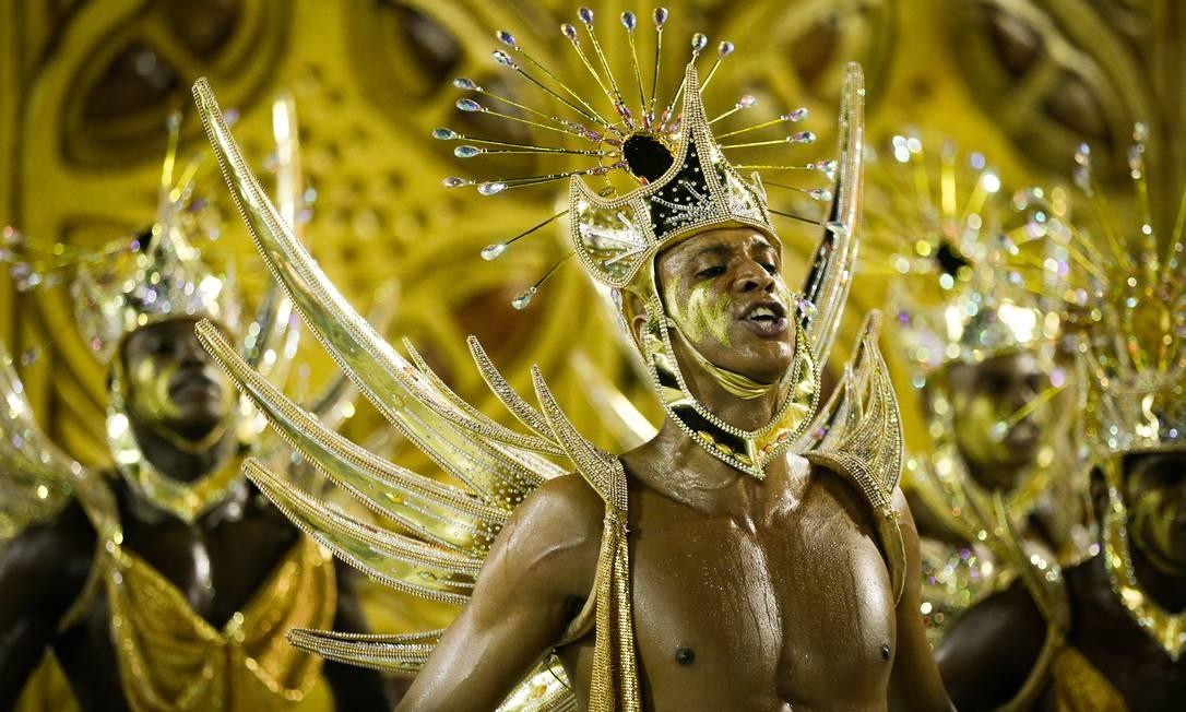Carnaval 2019 Desfiles das escolas de samba do grupo especial Salgueiro Foto: Antonio Scorza / Antonio Scorza
