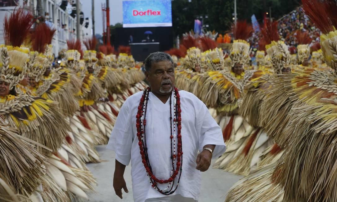 Após 23 anos na Beija-Flor, Laíla comanda carnaval da Unidos da Tijuca na Marquês de Sapucaí Foto: Domingos Peixoto / Agência O Globo