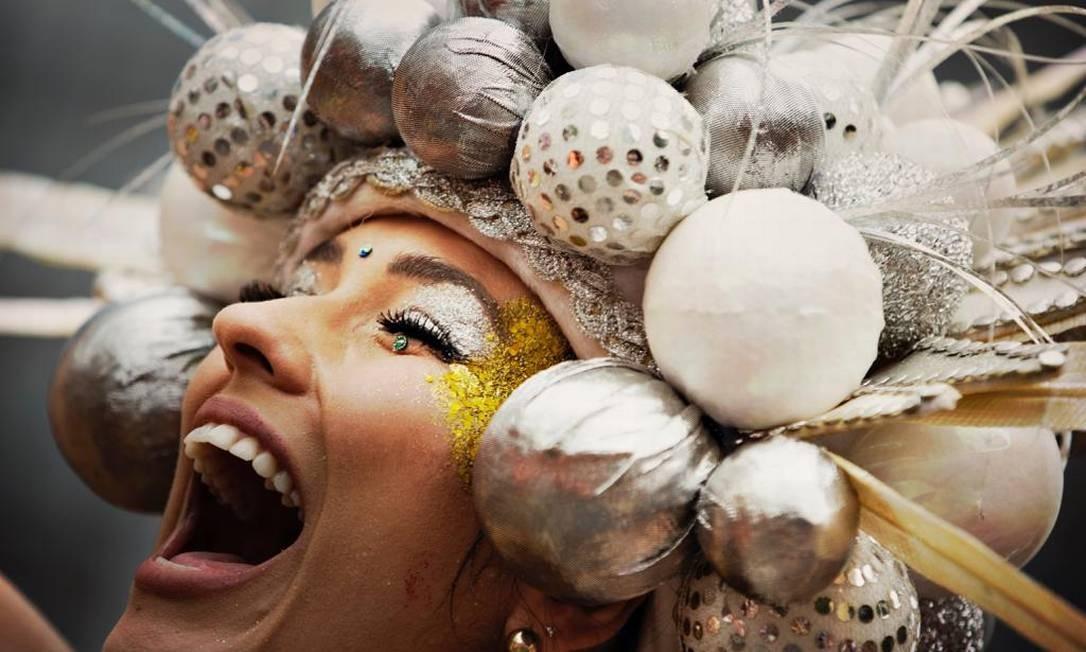 A alegria estampada no rosto Foto: Márcia Folleto / Agência O Globo