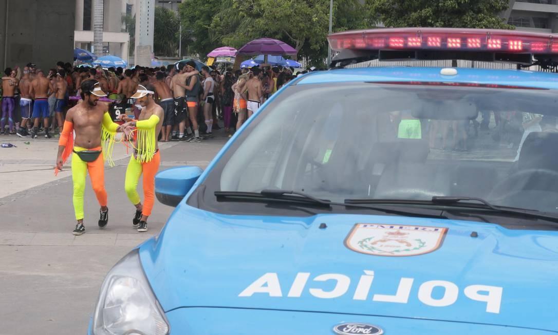 Segundo a PM, o Bunytos não tem autorização para desfilar Foto: Agência O Globo