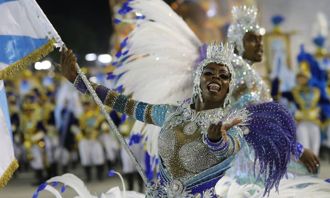 Desfile Escolas de Samba 2019 Vila Isabel Comissao de Frente Foto: Pablo Jacob / Agência O Globo