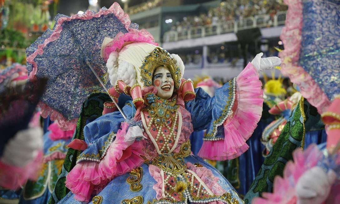 Ala homenageia a 'Versalhes Brasileira' Foto: Domingos Peixoto / Agência O Globo