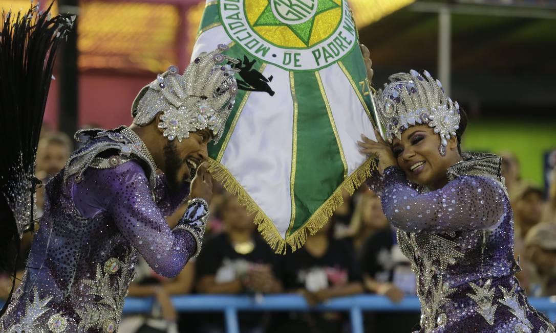 Desfile das escolas de samba do grupo especial. SEGUNDA-FEIRA. GRES Mocidade Independente. Foto: Marcelo Theobald / Agência O Globo