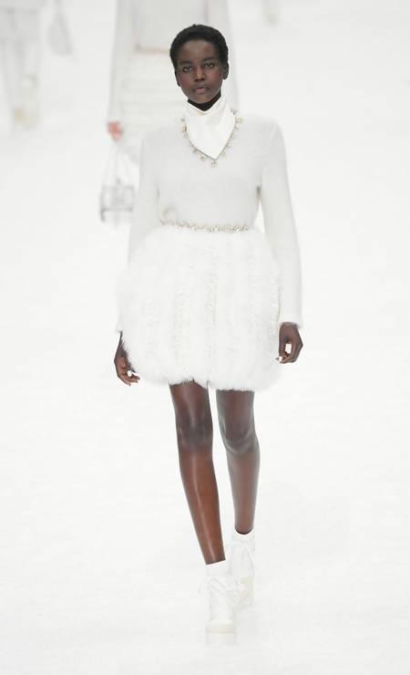Branco total é uma das apostas da coleção Foto: Dominique Charriau/WireImage