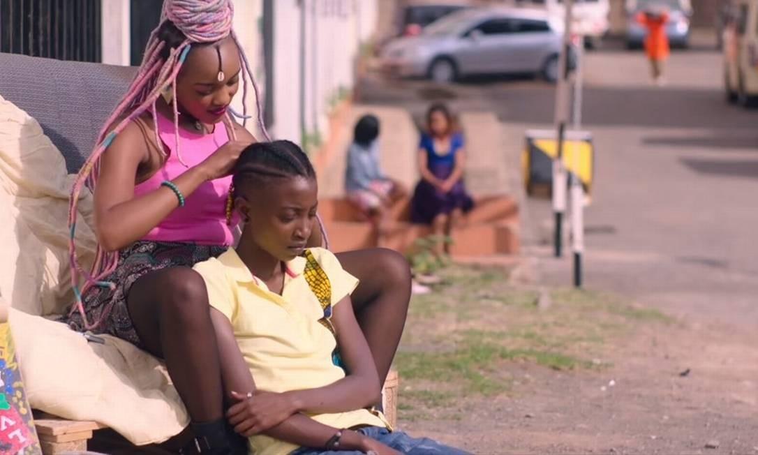 Cena do filme 'Rafiki' Foto: Divulgação