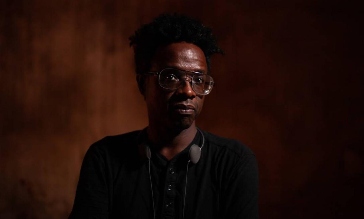 Diretor de 'Prisioneiro da liberdade', Jeferson De destaca a intelectualidade de Luiz Gama como protagonista de seu filme Foto: Pedro Iglesias/ Divulgação