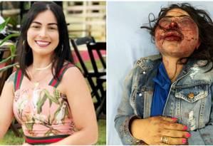 Jane foi encontrada nua e ferida numa estrada no ES Foto: Arquivo pessoal