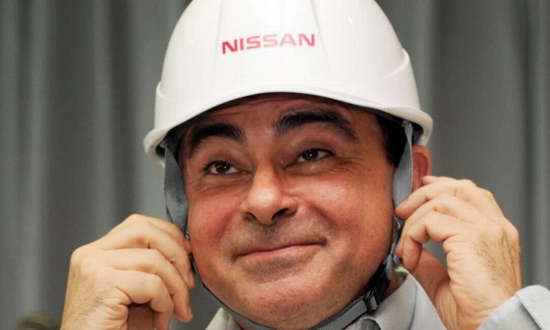 Ghosn foi preso sob a acusação de ter informado ao Fisco japonês rendimentos menores do que os efetivamente recebidos Foto: AFP