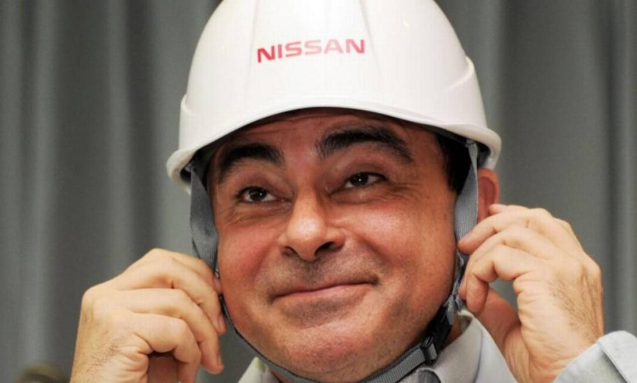 Nascido no Brasil, Ghosn tem cidadania francesa e libanesa. Ele é acusado de fraude financeira enquanto esteve à frente da japonesa Nissan. Foto: AFP