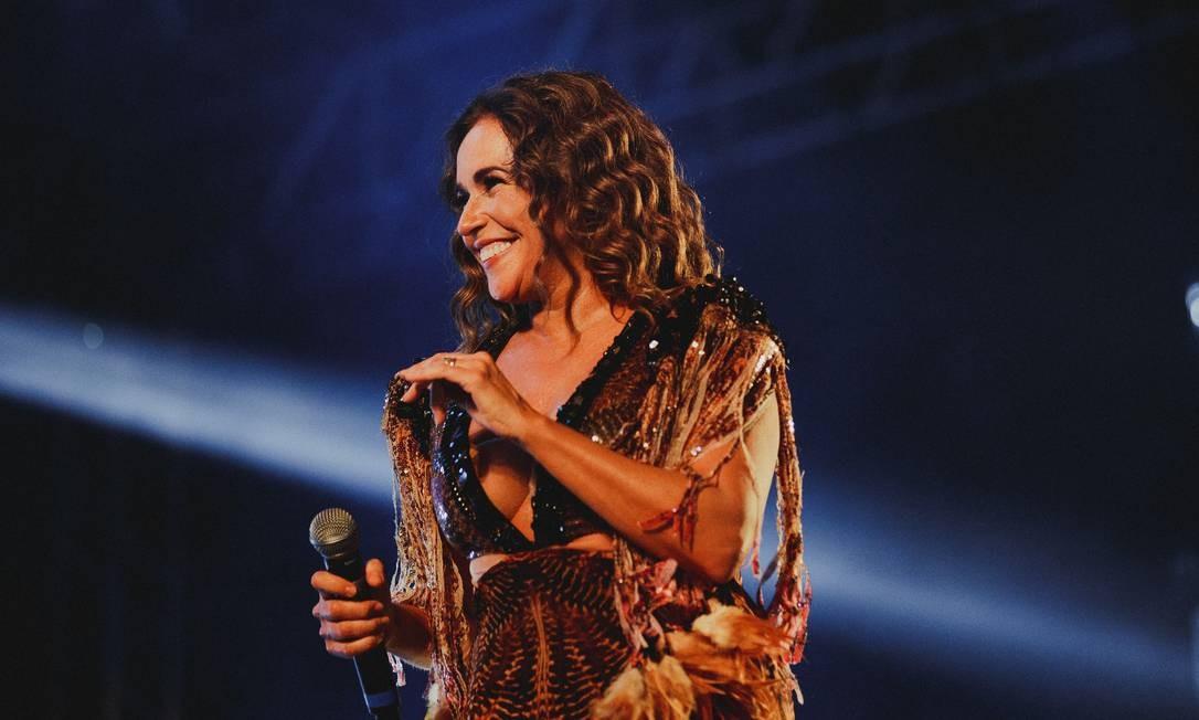 A cantora Daniela Mercury Foto: Andre Patroni / Divulgação