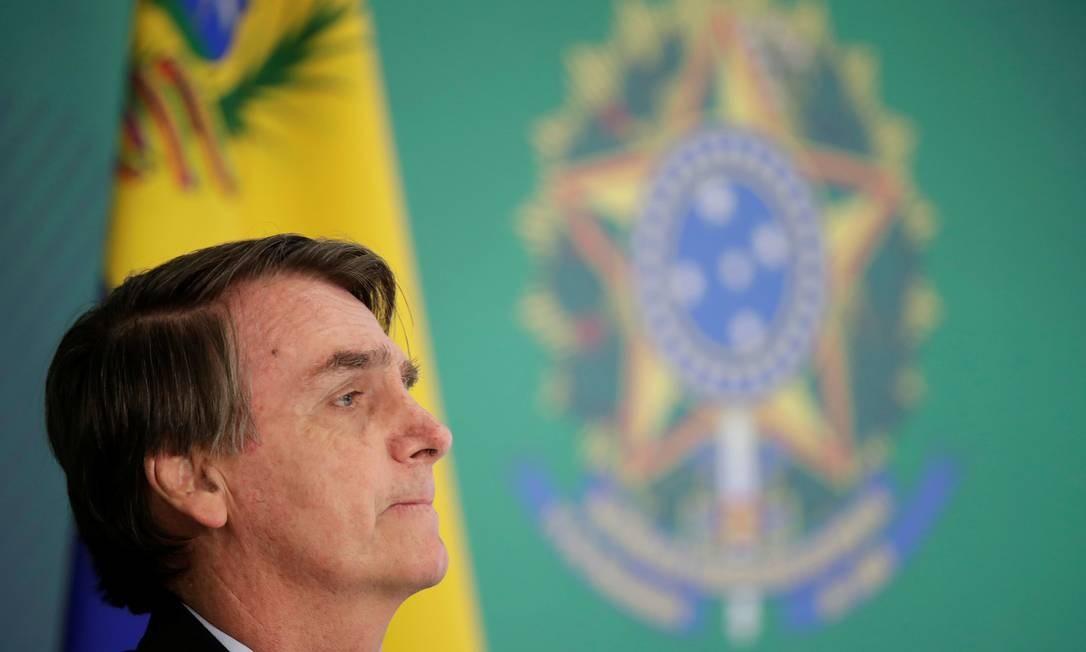 Especialistas reprovaram atitude do presidente Bolsonaro em relação à vídeo obsceno compartilhado na web Foto: Ueslei Marcelino / Reuters