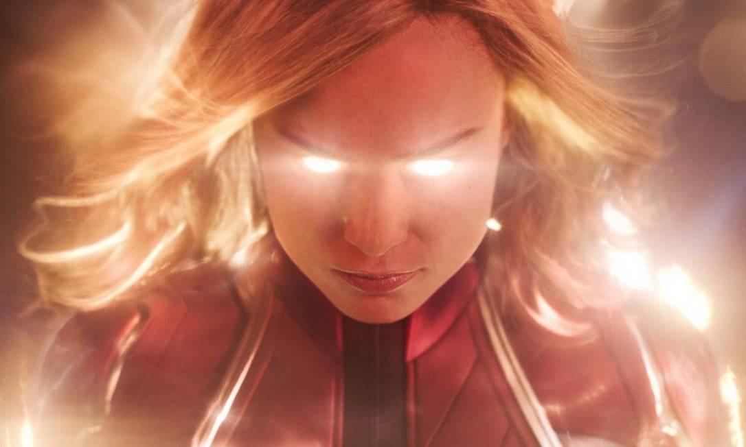 Este é o primeiro filme da Marvel protagonizado por uma heroína Foto: Divulgação / Divulgação