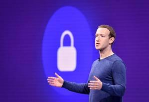Zuckerberg promete mensagens mais protegidas. Foto: JOSH EDELSON / AFP