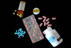 Remédios distribuidos na Nova Zelândia Foto: Phil Walter / Getty Images