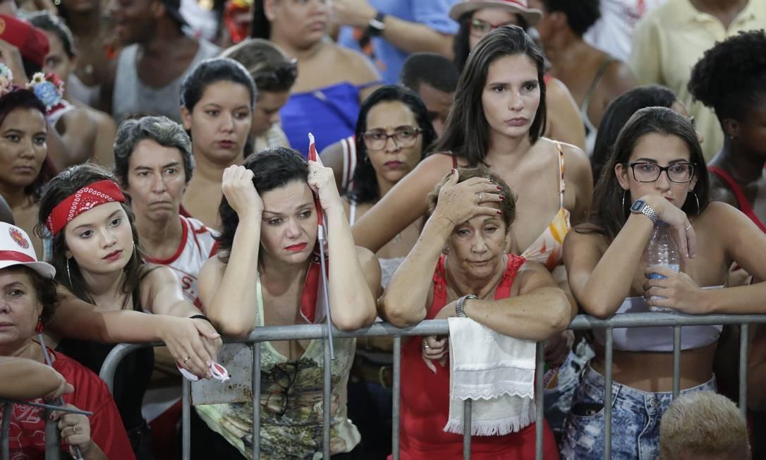 Apuração - Apuração do desfile das Escolas de Samba do Grupo Especial - Quadra da Viradouro. Foto: Marcio Alves / Marcio Alves