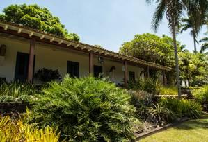 Sítio Roberto Burle Marx, em Barra de Guaratiba, é um dos candidatos a Patrimônio Mundial da Unesco Foto: Brenno Carvalho / Agência O Globo