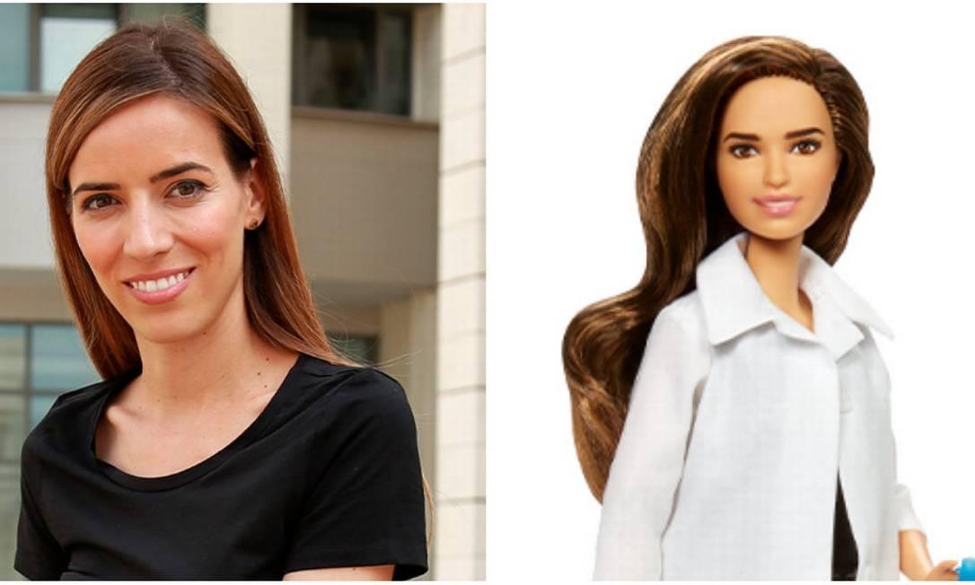 A cientista grega Eleni Antoniadou, que trabalha com medicina regenerativa Foto: Divulgação /Barbie
